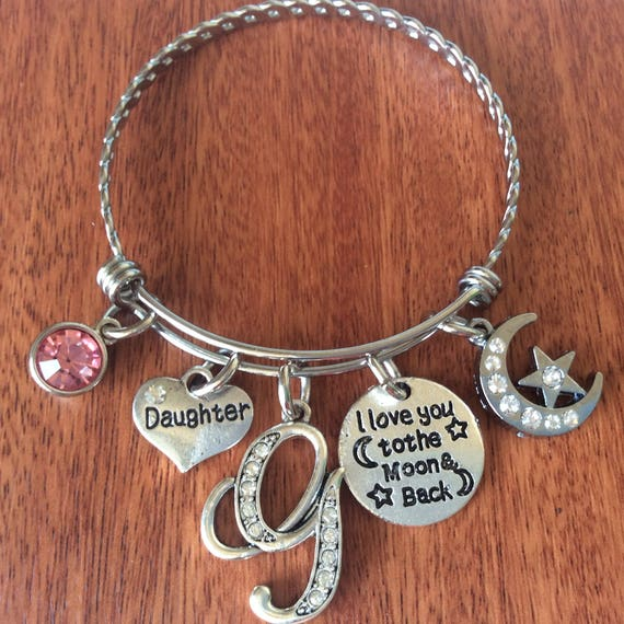 DAUGHTER Bracelet Daughter Jewelry Mother Gifts
