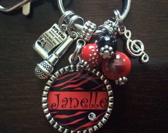 Graduation Gift, MUSIC Gifts, Graduate, 2016 Grad, Sister Gift, College Graduate, Sports Bracelet, Mom Jewelry, Sister Jewelry, Mimi