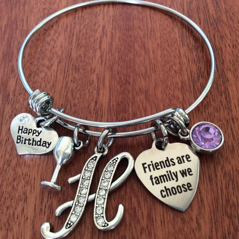 271ff991fa2c6 FRIEND Gift, Friendship Bracelet Jewelry, Friend Birthday Gift, Friend  Birthstone Gift, Friend Bracelet, Friend Jewelry Friend Birthday Gift