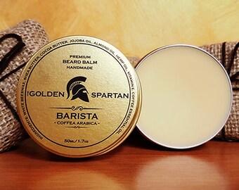 Beard Balm Barista - The Golden Spartan