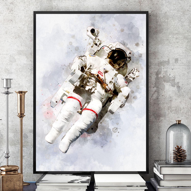 retro astronaut posters - HD1500×1500