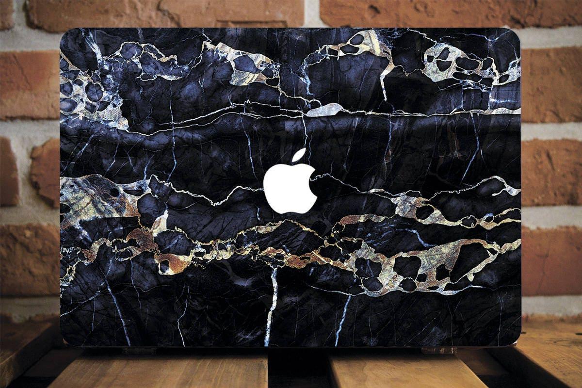 promo code 40b53 20f01 Black Marble Macbook Air Case Macbook Pro Case Macbook Pro Retina Case Hard  Case Pro 13 Hard Cover Hard Case Air Hard Case Retina WCM2018