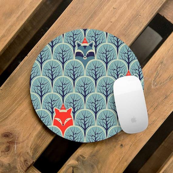 Mouse Mat Desk Accessories Mousepad Mouse Pad Mandala Mouse Pad White Mouse Pad Office Decor Round Mouse Pad Oval Mouse Pad WCM5004