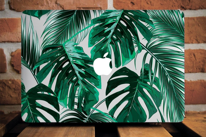 Tropical Print Laptop Case 2018 MacBook Air 11 Hard Case MacBook Air Case  13 Apple Mac Pro 13 2017 Case Macbook 12 Areca Palm Leaves WCM2064