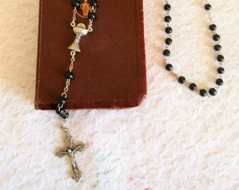 Rosary First Communion Vintage