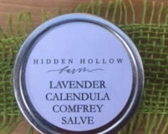 Lavender Calendula COMFREY SALVE