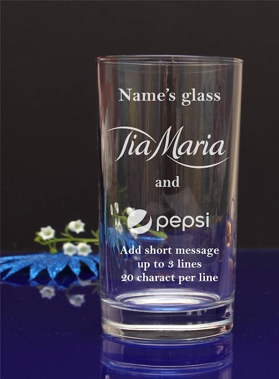 Personalised Jim Beam Hi-Ball Whisky Tumbler Mixer Glass Engraved Gift