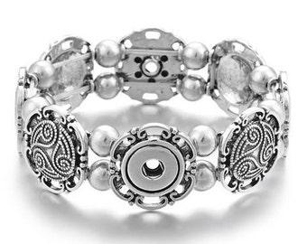 d82859672e71 Snap Bracelet 4 Snap Stretchy Bracelet