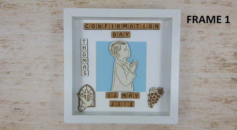 Personalised Photo Frame Confirmation Gift!
