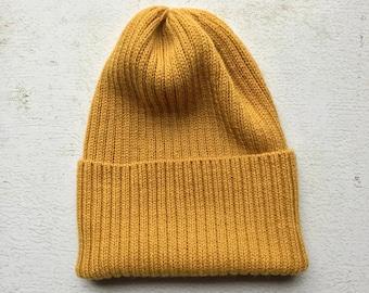Yellow beanie  b75a3a6f787b