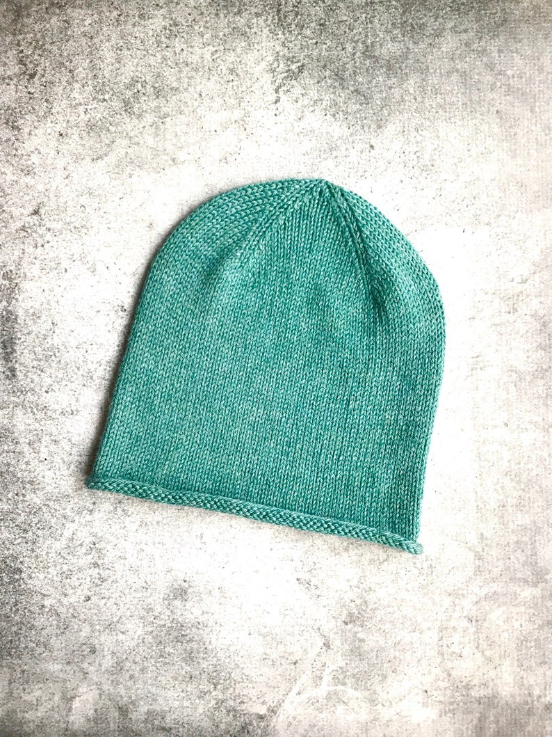 dd5788d56fd Men s Alpaca Hat Slouchy Hat Guys Hats Sea Green Hat