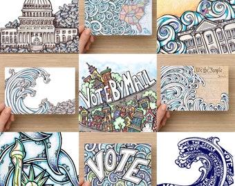 Postcards To Voters - Variety Bundle - 100