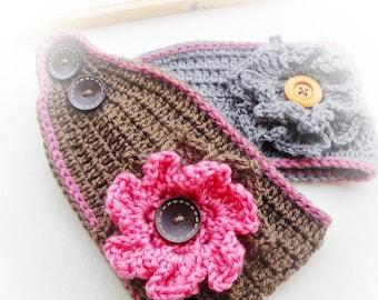 Boho Ear Warmer Crochet Pattern
