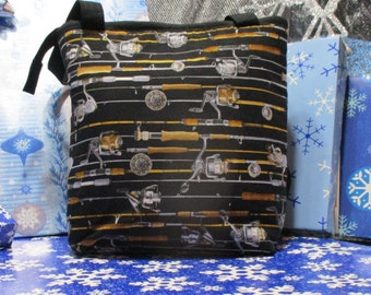 Fishing Rods and Reels Tote Bag