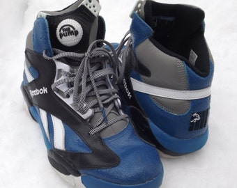 dc26b6b4e924 Amazing Reebok Pump Shoes Shaq Brand RARE NBA Orlando Magic Colors Reebok  Pumps Pump Shoes Mens Size 10 US Basketball Shoes Vintage Reebok