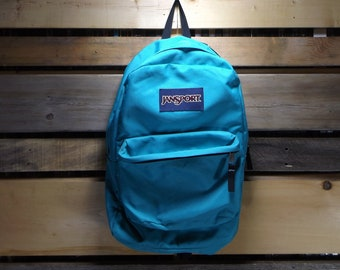 4ab722bb0bd5 Jansport Backpack Teal Jansport Vintage Jansport