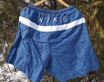 0af2c2c3ae90 Vintage Nike Swim Trunks XL Vintage Nike Swimsuit Beach Shorts Volleyball  Nike Air Size XL Nike Shorts 90s Nike Vintage Swim Trunks NIkes