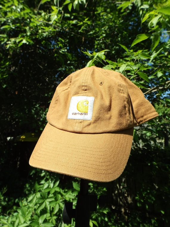 98f36d46d6e ... cheap carhart hat vintage carhartt cargo brown beige full back hat etsy  6e836 d71fd