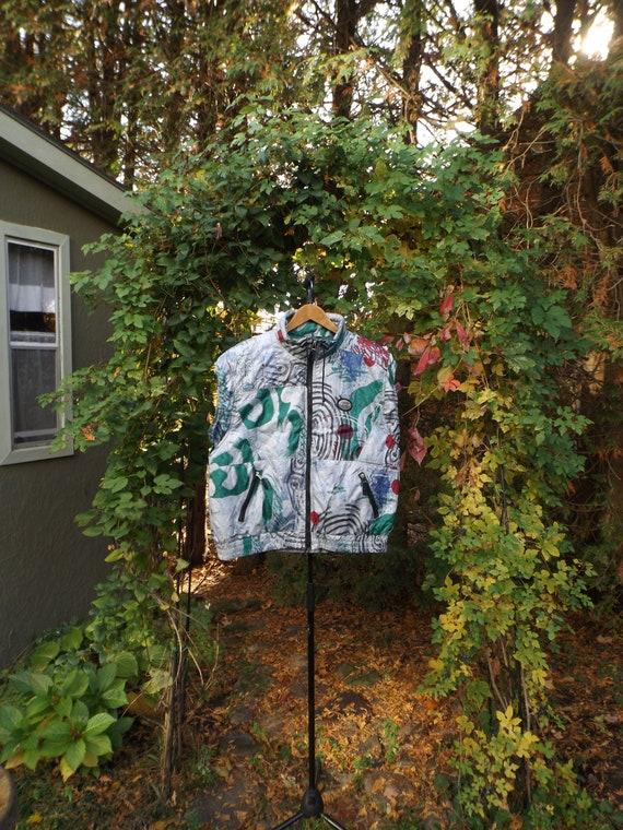 RAD 90s Ski Vest Puffer Vest Adult Size MEDIUM 90'