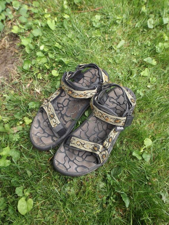 TEVA Sandals 90s Vintage Tevas Aztec Scorpion Stra