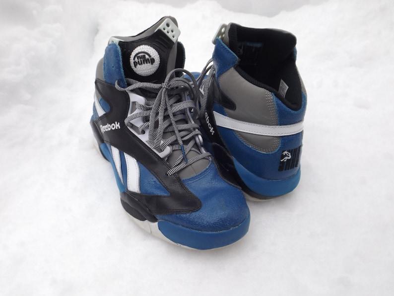 f094cddfb33 Amazing Reebok Pump Shoes Shaq Brand RARE NBA Orlando Magic