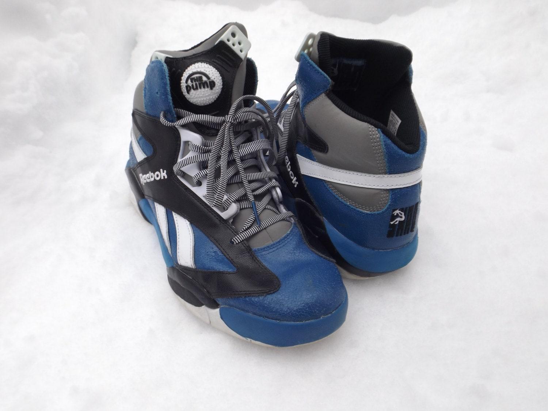 c681e15d2dd Amazing Reebok Pump Shoes Shaq Brand RARE NBA Orlando Magic | Etsy