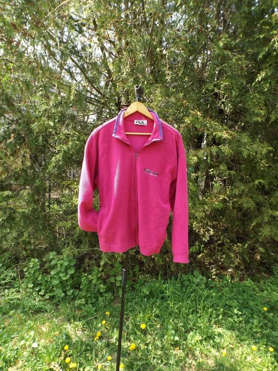 FILA Sweatshirt FILA Jumper Neon Pink