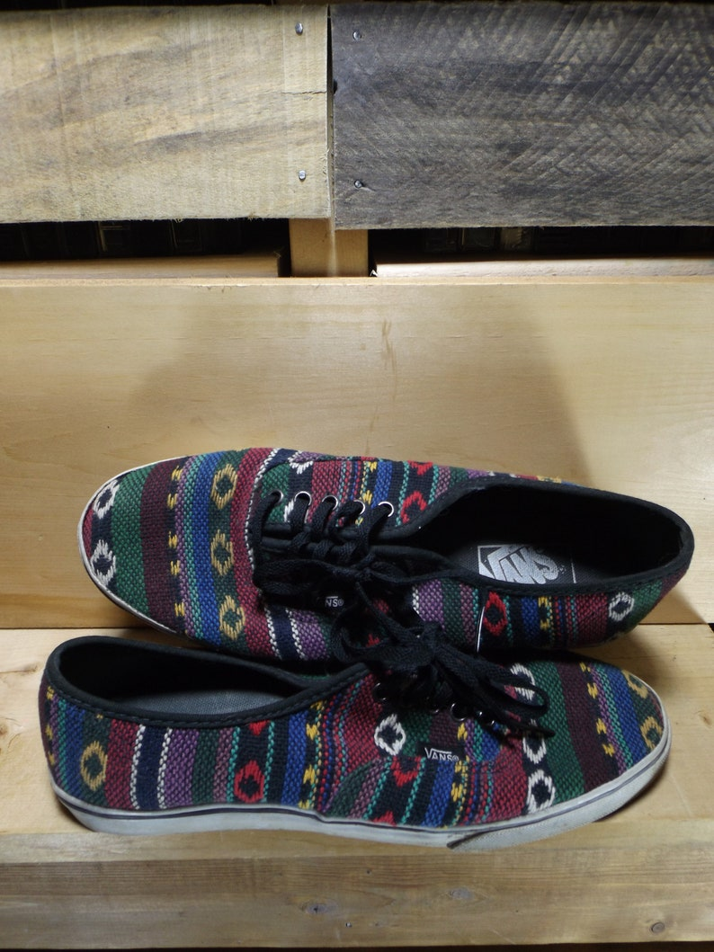 d08f133eefe Vintage VANS Shoes Vans Old Skool Mexican Woven Shoes Womens