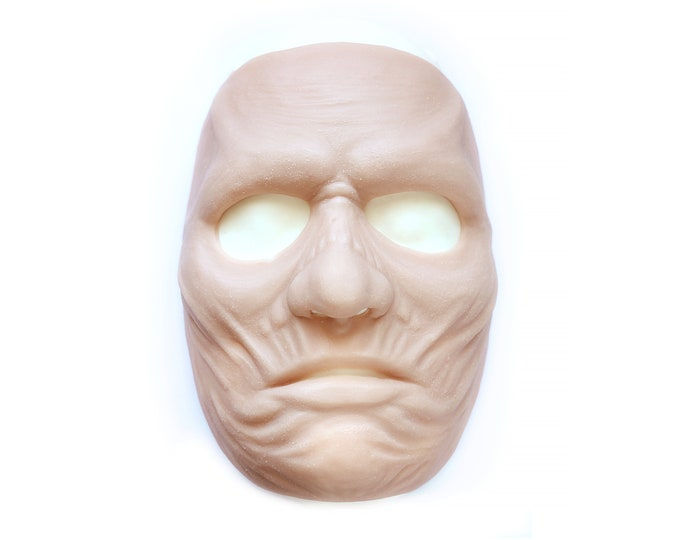 Ghoul Mask / Silicone prosthetics / Latex free / Reusable / Special effects / Halloween / Stage wear / FX Makeup / Cosplay / LARP / SFX