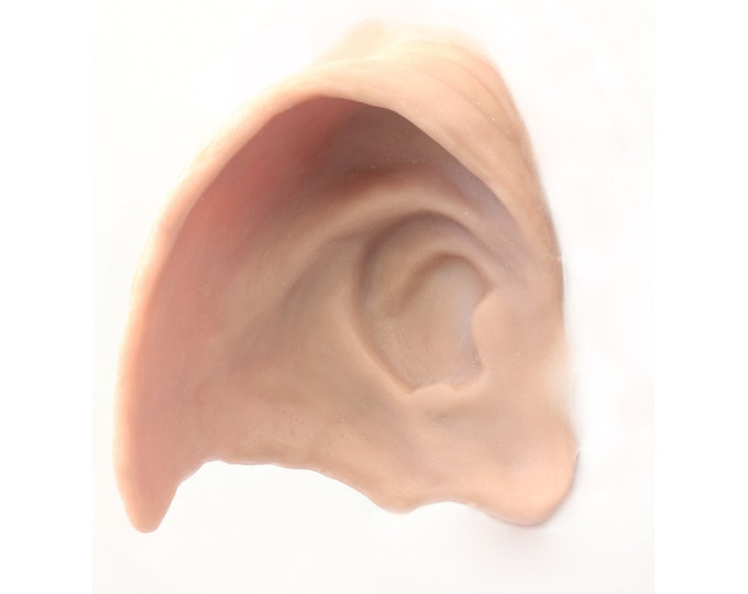 House Elf Ears / ONE PAIR / Silicone prosthetics / Latex free