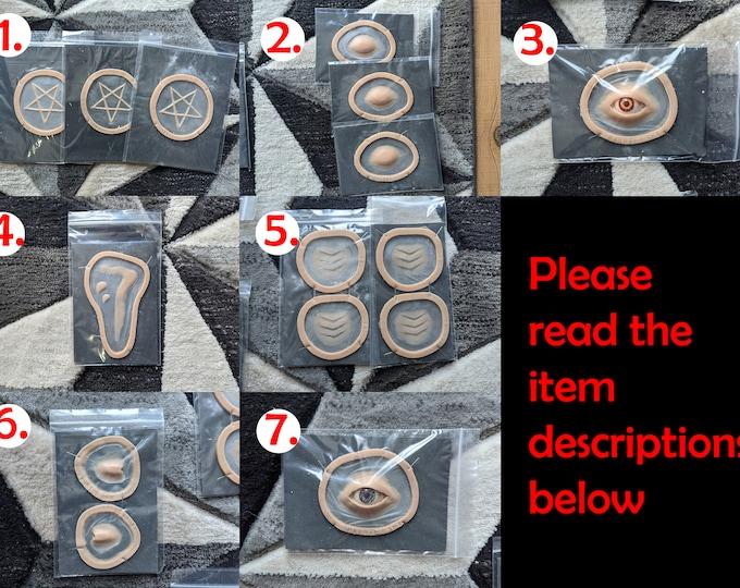 Surplus and defect pieces / 25% OFF / Multiple colours / READ item description to avoid confusion
