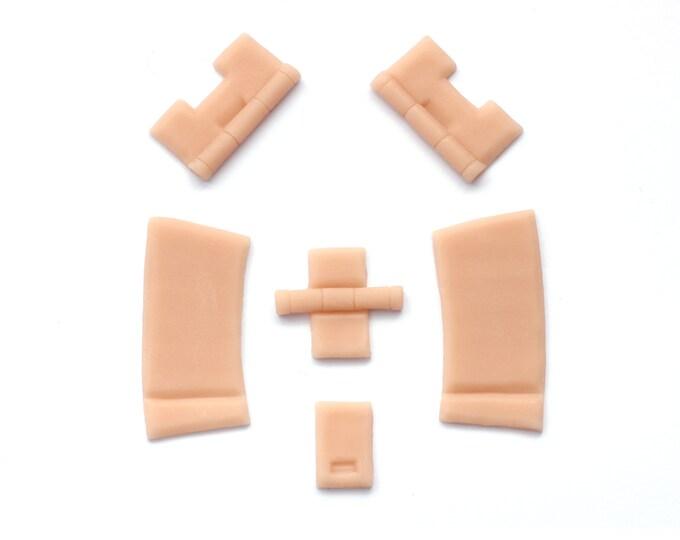 Hinges / Silicone prosthetics / Latex free