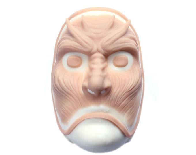 Devil Mask / White Walker Inspired / Silicone prosthetic / Latex free