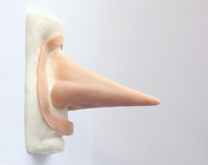 Laughing Jack Nose / Silicone prosthetic / Latex free
