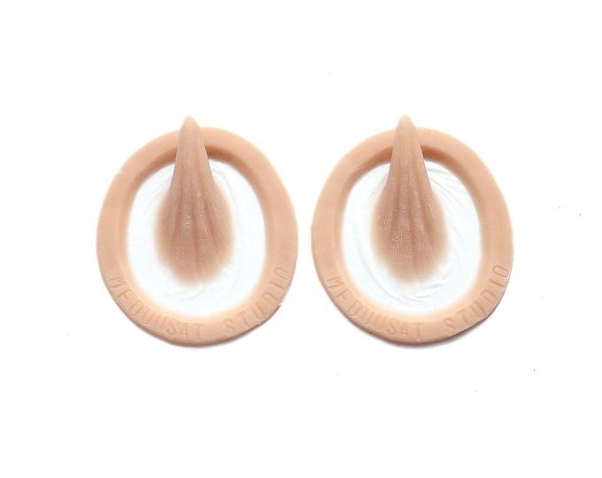 Small Horns / 3 Sizes / Silicone prosthetics / Latex free