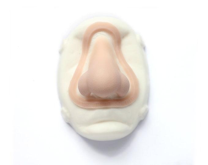 Nordic Troll Nose / Silicone prosthetic / Latex free / Halloween / LARP / Cosplay / Mythology / Meduusat / HauntedSFX / SFX / FX makeup
