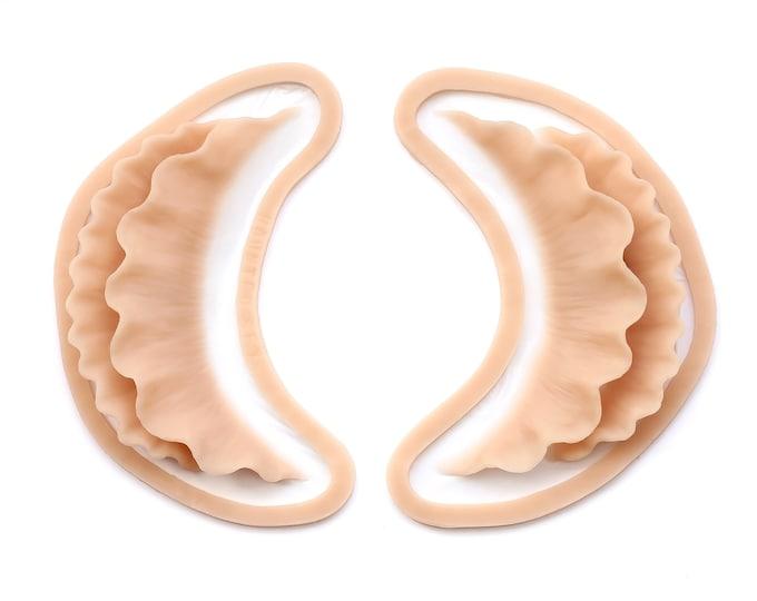 Ruffle Gills / Silicone prosthetics / Latex free