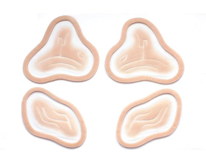 Alien Facial Markings / Silicone prosthetics / Latex free