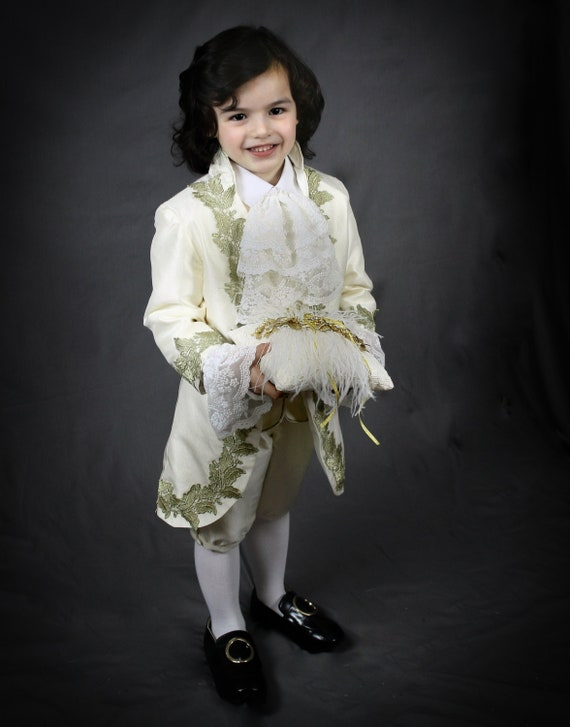 Ring bearer outfit, pageboy outfit, wedding boy outfit, boys costume, Victorian boys costume,photoprop kids