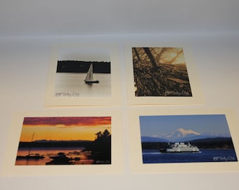 All Occasion Blank Cards - Northwest Splendor - Set of 4 Photo Cards