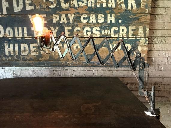 Magnificent Industrial Workbench Scissor Light Railroad Extending Art Deco Lamp Forskolin Free Trial Chair Design Images Forskolin Free Trialorg
