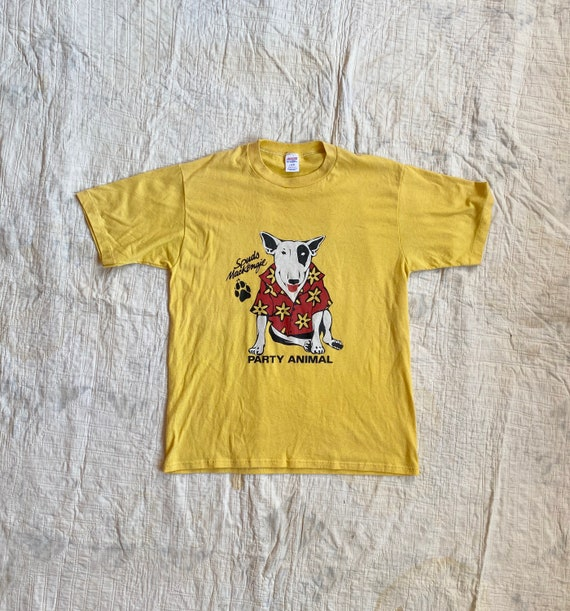 Vintage 1980s Spuds Mackenzie Party Animal Jerzees