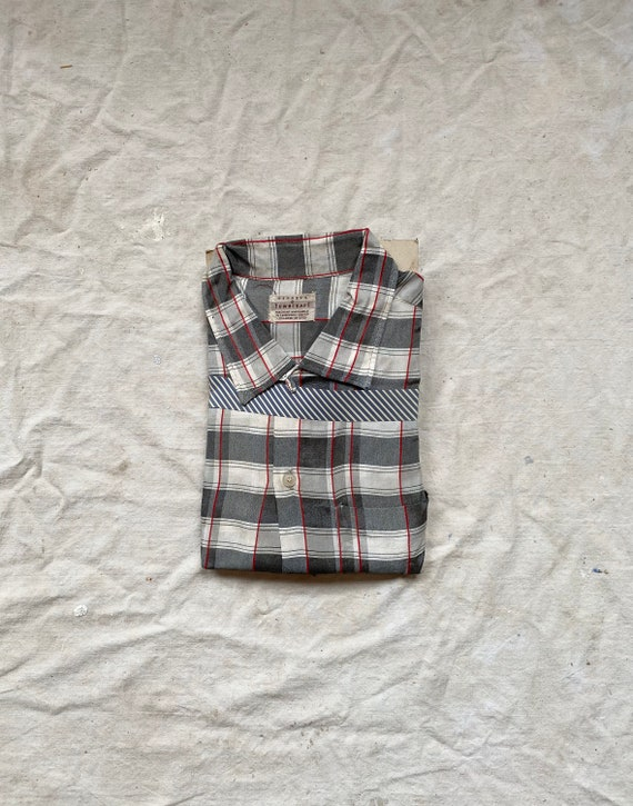 Vintage 50s Deadstock Penneys Towncraft Plaid Butt