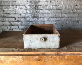 Vintage Dupont Explosives Crate Repurposed Drawer Farmhouse Decor