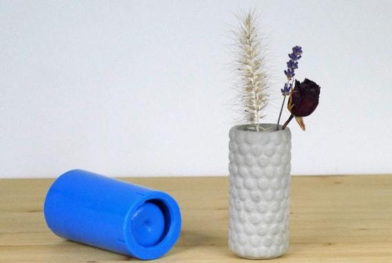 Concrete Mold Silicone Rubber Vase Mold Small Concrete Vase Etsy