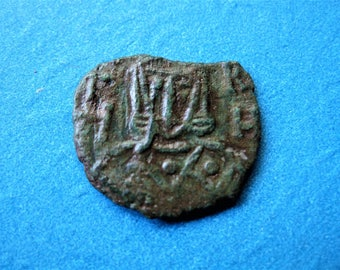 Byzantine Empire, AE Follis, Leo V The Armenian & Constantine
