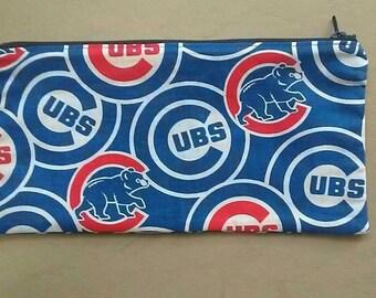 Chicago Cubs Zipper Pouch