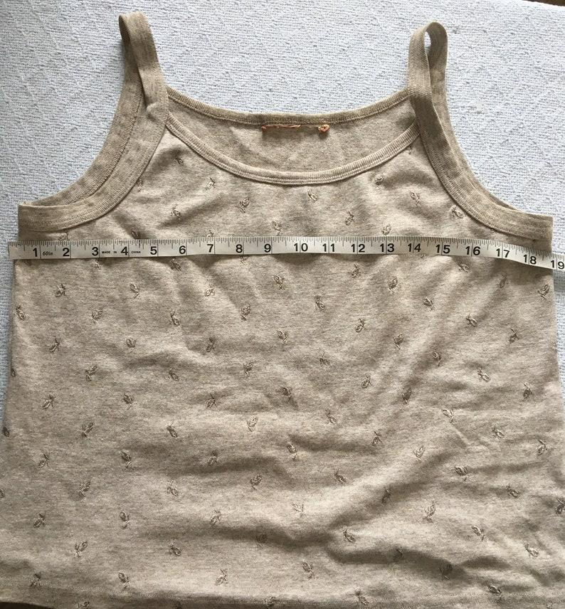 Vintage 90/'s beige tank top90s beige cardigannormcore topminimalist topcardigan tank top setbeige 90s shirt90s grunge top