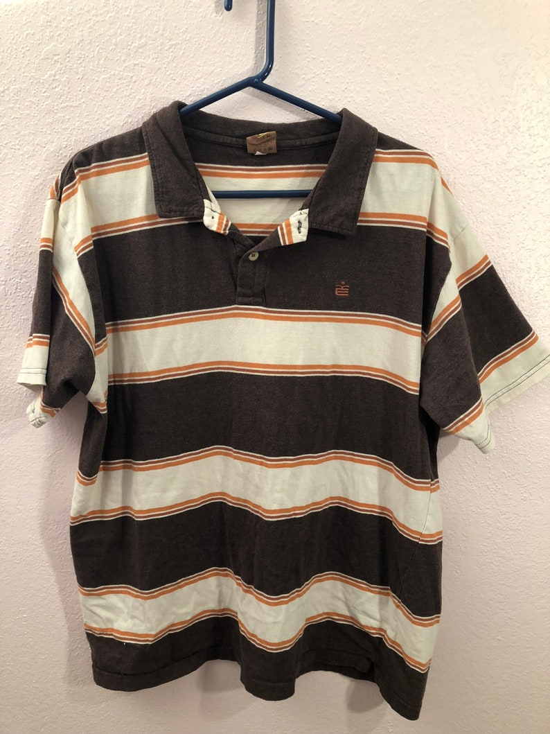 615a9bf8b 90s Striped T Shirt Mens | Top Mode Depot