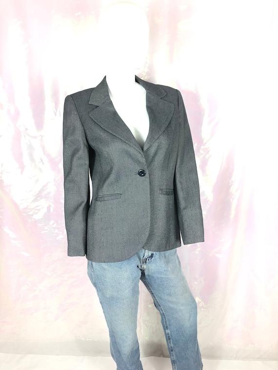 Vintage 90s dark navy blue blazer/Carslisle 90s bl